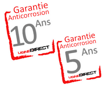 garanties anticorrosion
