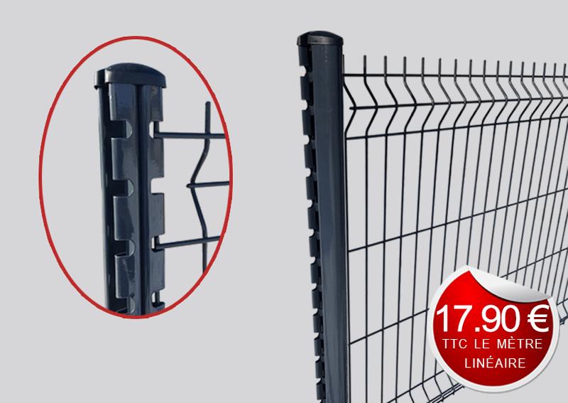 kit grillage rigide hauteur m. Black Bedroom Furniture Sets. Home Design Ideas